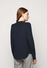 Theory - RUCHED BLOUSE - Blouse - navy ink - 2