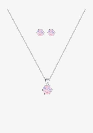 GLASS CRYSTAL - Boucles d'oreilles - pink-coloured