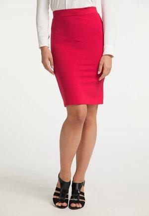 Pencil skirt - rot