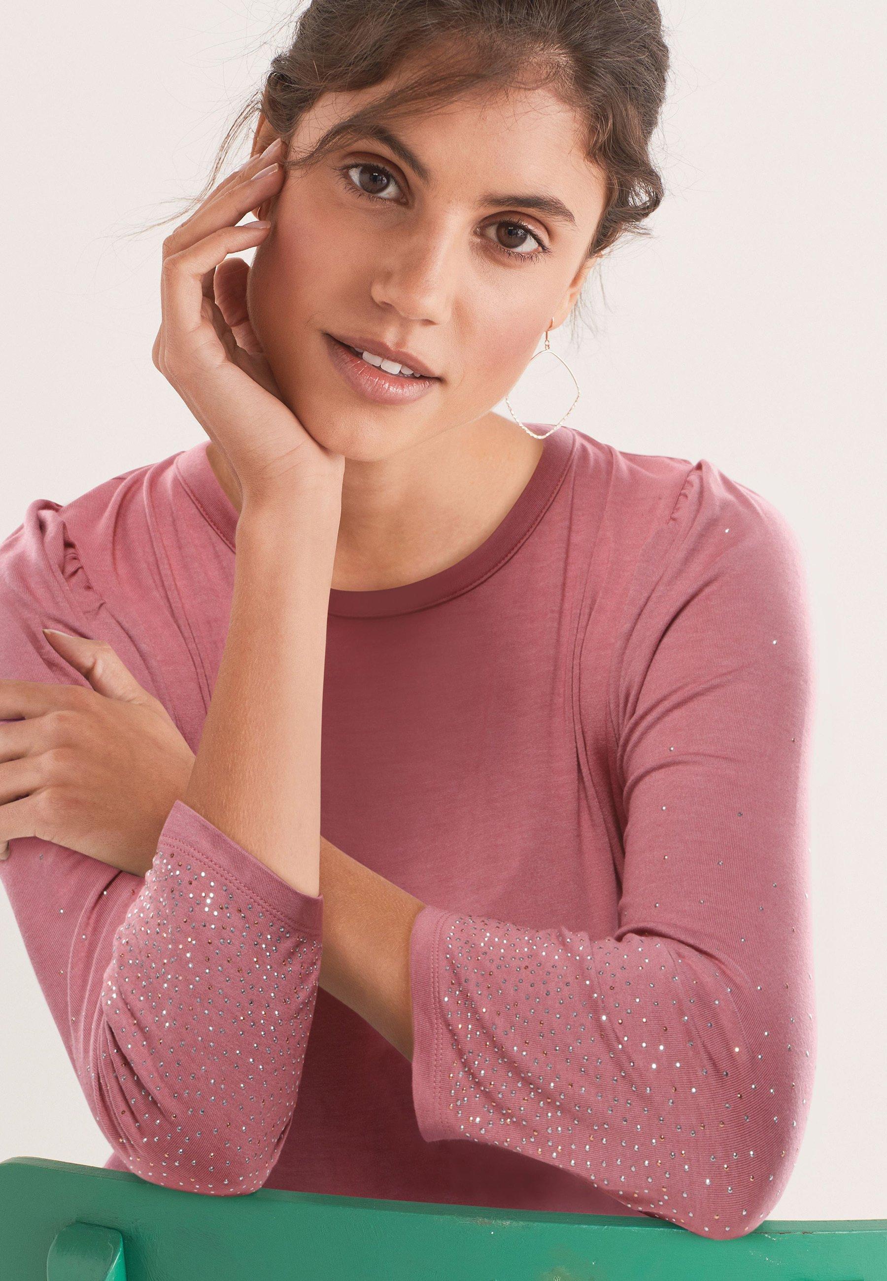 Donna Maglietta a manica lunga