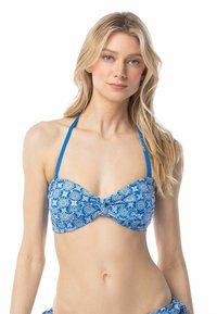 MICHAEL Michael Kors - Bikini top - grecian blue - 0