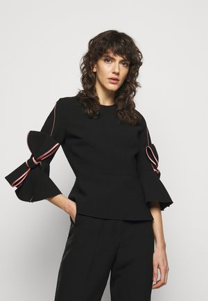 KEMI - Long sleeved top - black/rose