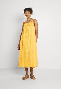 EDITED - EMELIA DRESS - Maxi dress - marigold orange - 0