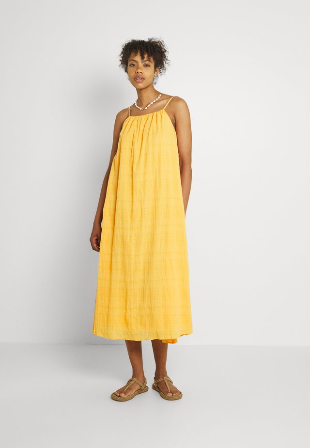 EMELIA DRESS - Maxi dress - marigold orange