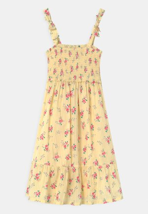 GIRL MIDI DRESS  - Sukienka letnia - yellow