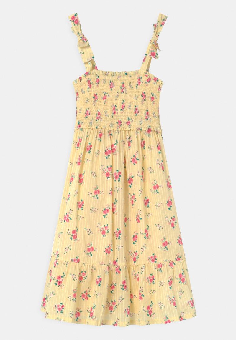 GAP - GIRL MIDI DRESS  - Day dress - yellow