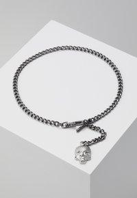 Twisted Tailor - ALBERT CHAIN - Keyring - shiny dark gunmetal/rhodium-coloured - 0