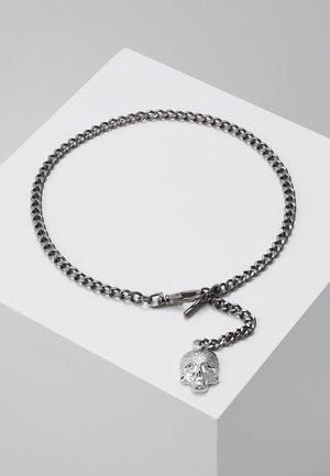 ALBERT CHAIN - Schlüsselanhänger - shiny dark gunmetal/rhodium-coloured