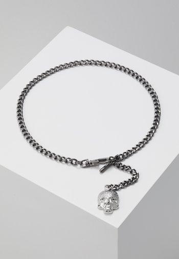 ALBERT CHAIN - Keyring - shiny dark gunmetal/rhodium-coloured