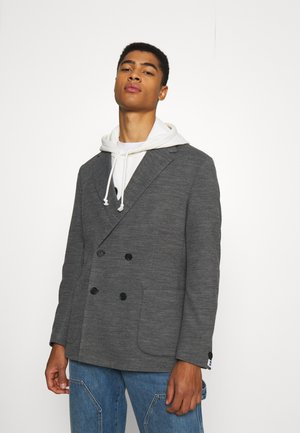 BOSS X RUSSELL ATHLETIC CAJAN - Blazer jacket - medium grey
