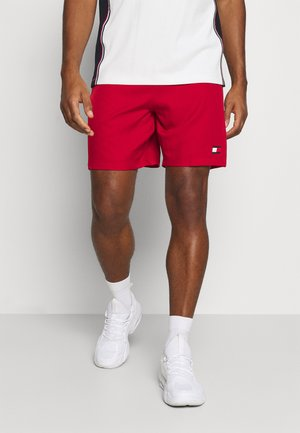 LOGO FLAG SHORT - Sports shorts - red