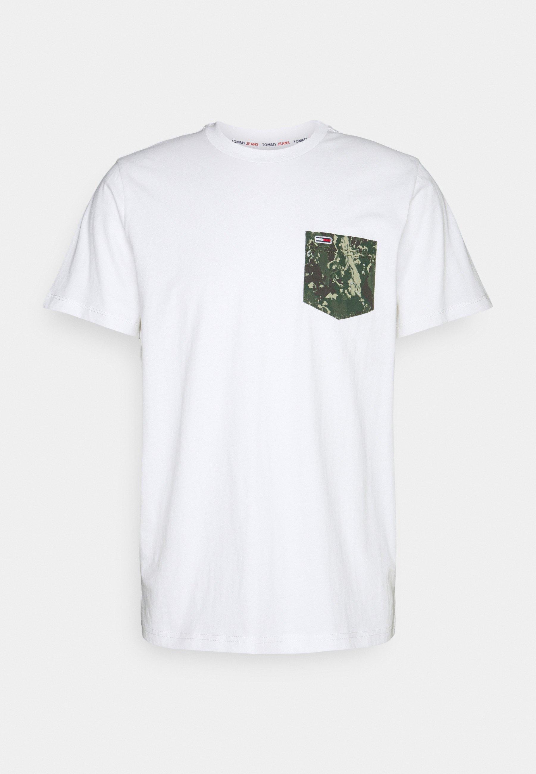 Homme CONTRAST POCKET TEE - T-shirt imprimé