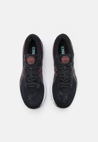 ASICS - GEL CUMULUS 23 - Neutral running shoes - black/electric red - 3
