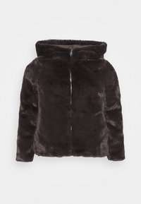 VMTHEA HOODY JACKET - Winter jacket - chocolate plum