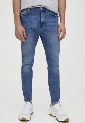 JEANS SKINNY FIT - Skinny-Farkut - light blue denim