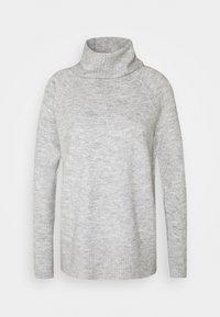 ONLCILLE ROLLNECK - Jumper - light grey melange
