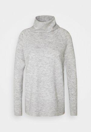 ONLCILLE ROLLNECK - Trui - light grey melange