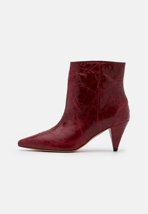 COTOPA - Classic ankle boots - red