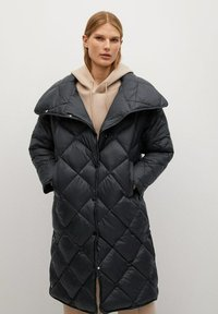 Mango - CROCO - Winter coat - schwarz - 0