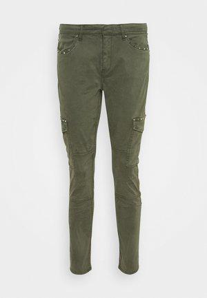 Cargo trousers - khaki