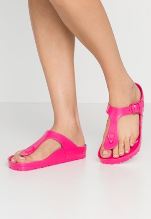 GIZEH  - Pool shoes - beetroot purple