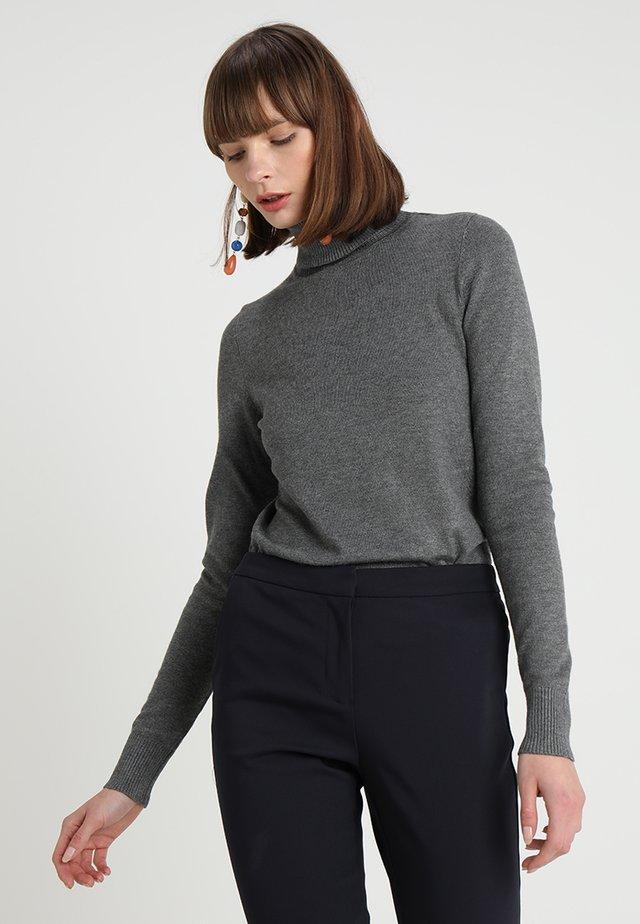 MILA ROLLNECK - Jumper - grey