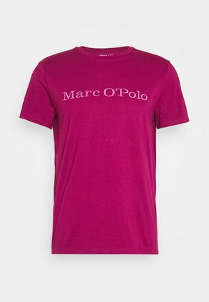 SHORT SLEEVE CREW NECK - Triko s potiskem - raspberry radiance