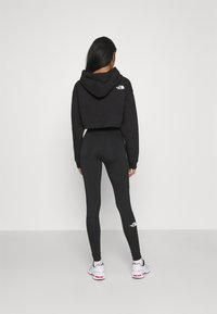The North Face - COORDINATES CROP DROP HOODIE - Sweatshirt - black - 2