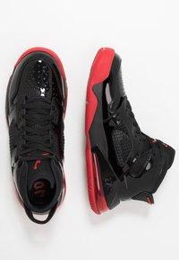 Jordan - MARS 270 - Korkeavartiset tennarit - black/anthracite/gym red - 2