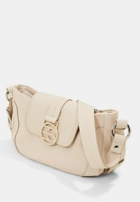 Esprit - FASHION BAGUETTE  - Handbag - light beige - 3