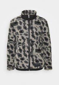 Topman - ANIMAL BORG JACKET - Winter jacket - grey - 4