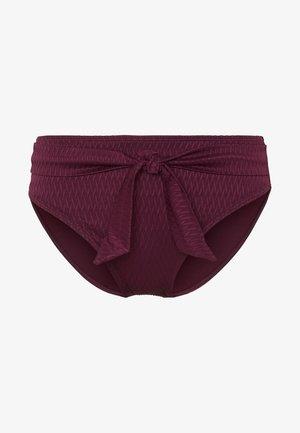 CAPRI HIGH WAISTED BRIEFS - Bikini bottoms - lipstick