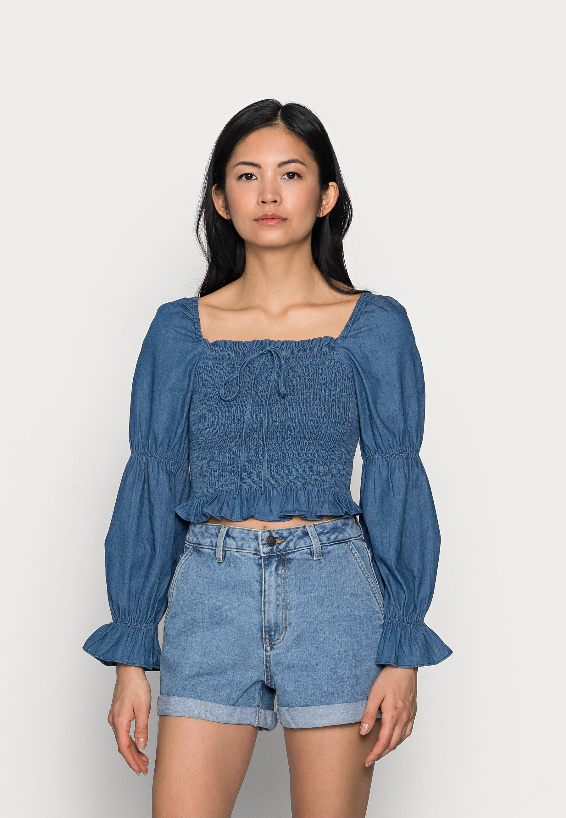 Women PCTAYLA CROPPED TOP - Blouse