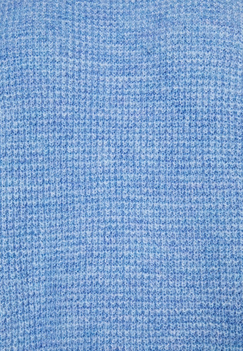 Gap Tall WAFFLE STITCH MOCK AIRY - Strickpullover - chambray heather/blau d260h1