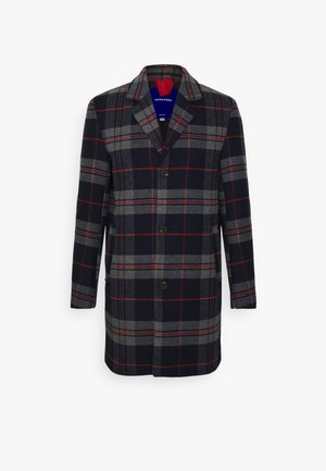 JORBLINDERS CHECKED COAT - Manteau classique - navy blazer