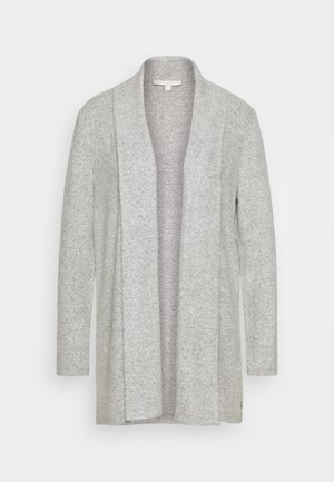 Cardigan - light silver/grey melange