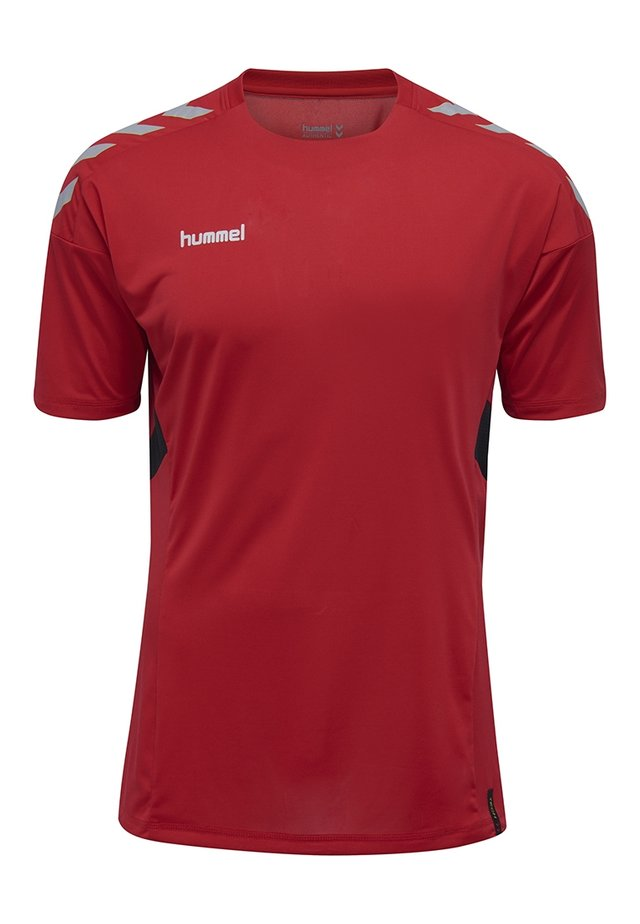 TECH MOVE - Print T-shirt - red