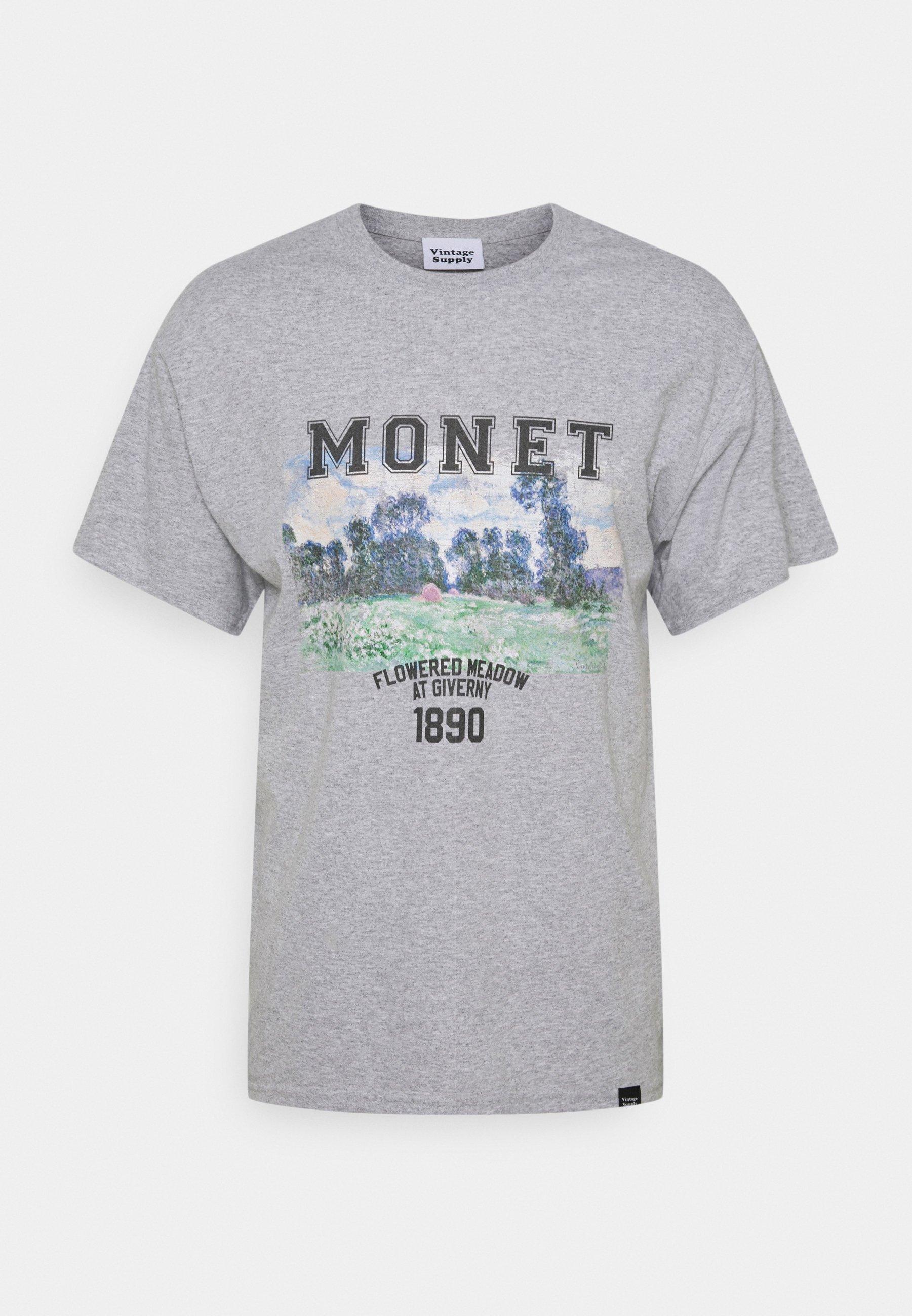 Men MONET ARTS GRAPHIC - Print T-shirt