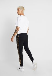 Brave Soul - HELIX - Tracksuit bottoms - black - 2