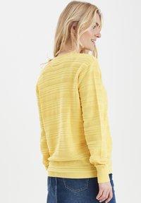 Fransa - FRITLINE - Cardigan - yellow - 3