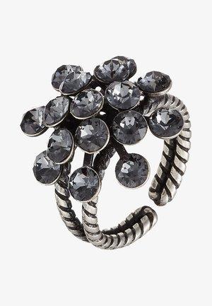 MAGIC FIREBALL - Anillo - grey antique silver