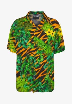 SHIRT TROPICAL TIGER PRINT - Košile - multi