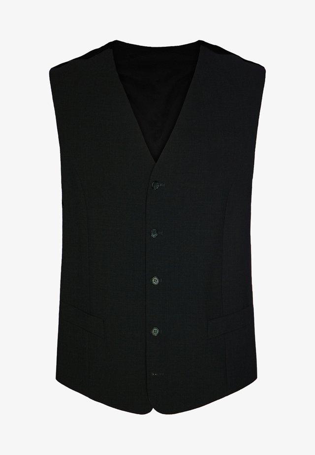 LIVORNO - Suit waistcoat - black