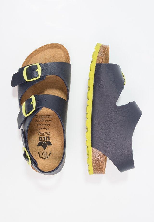 BIOLINE MASTER - Sandaalit nilkkaremmillä - marine
