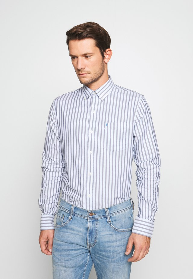 OXFORD STRIPE - Camisa - cadet navy