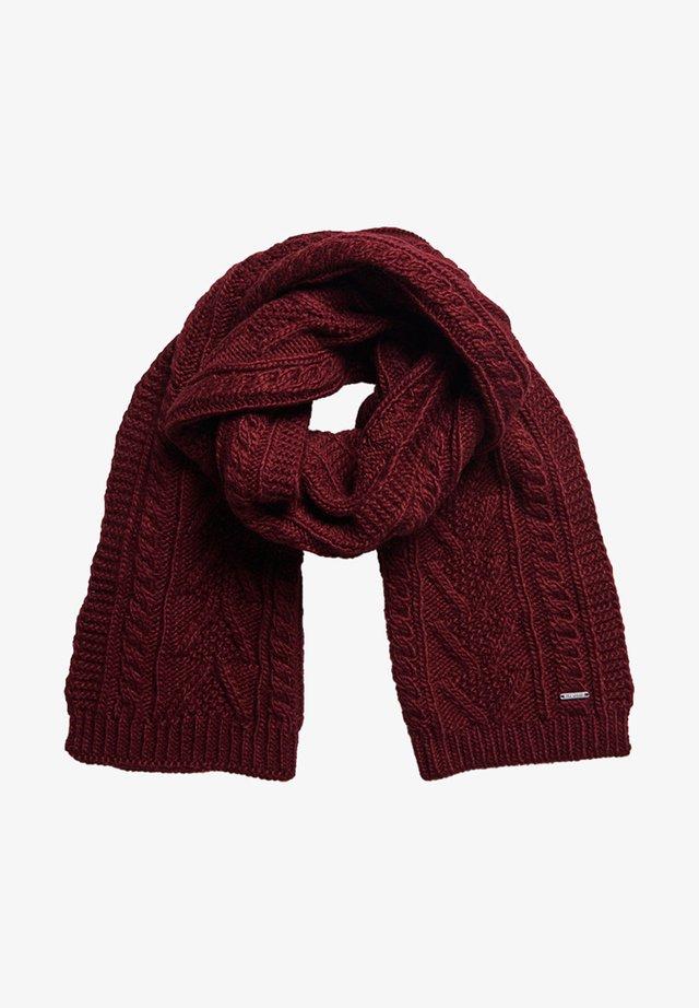 Sjaal - brooklyn burgandy