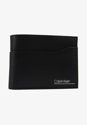 SLIVERED COIN - Portefeuille - black