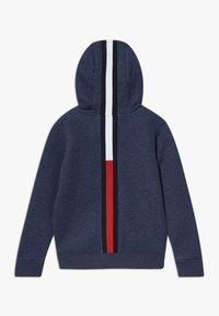 Tommy Hilfiger - BACK INSERT HOODED FULL ZIP - Zip-up hoodie - blue - 1