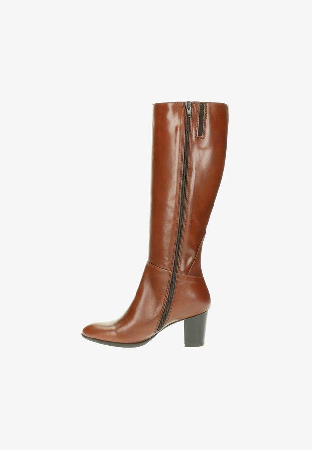 Overknee laarzen - bruin