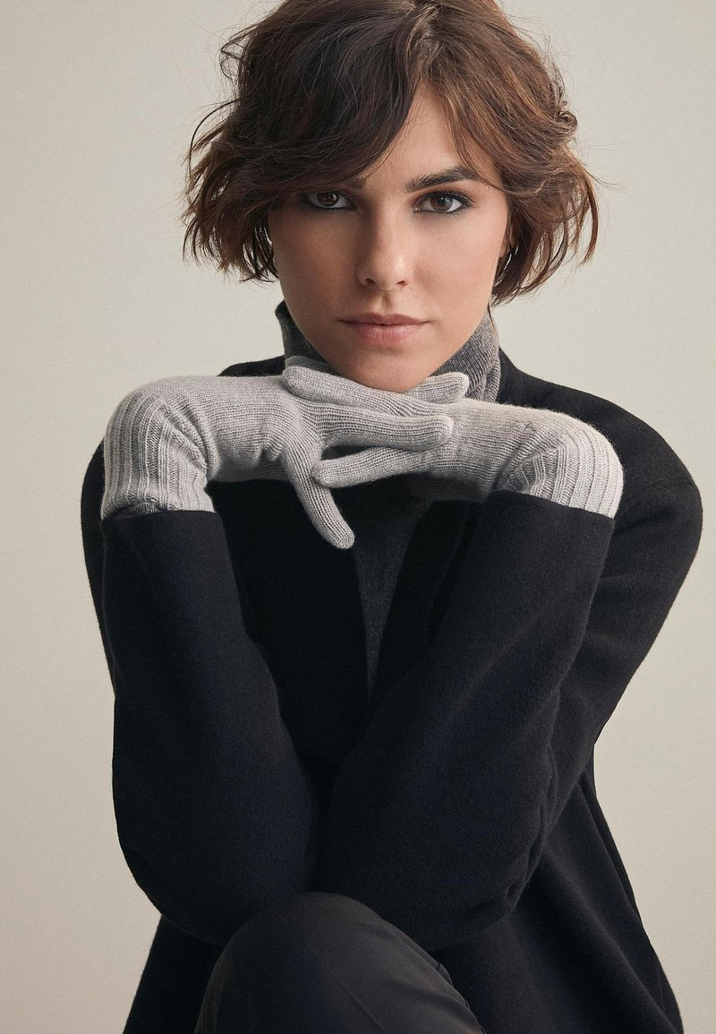 Falconeri - Gloves - silver